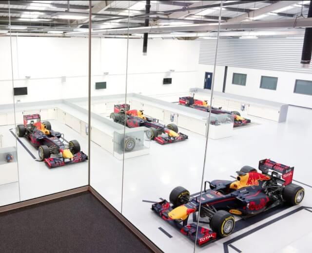 red bull racing factory f1 cars 1024x768