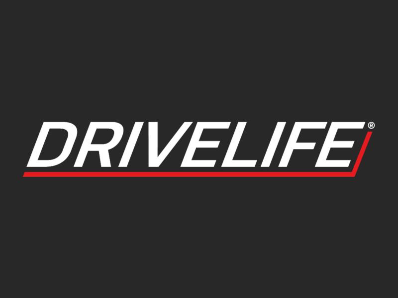 Logo DriveLife RGB grijs background