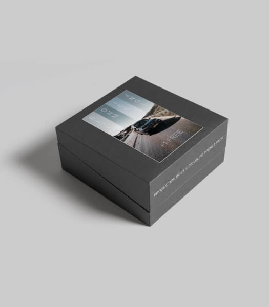 Mockup LR preset box